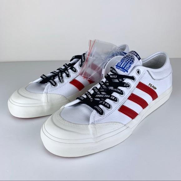 more photos 88fe7 30685 Adidas Matchcourt ASAP Ferg Traplord White Sneaker NWT